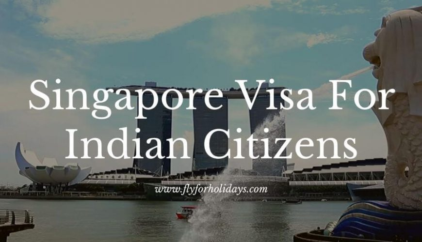 How to Obtain a Singapore Visa For Indian Citizens in India in 2020 - FlyForHolidays