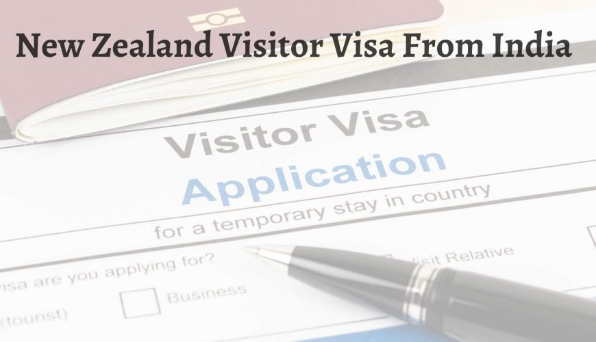 Visitor visa fees for new zealand from india - Fly For Holidays