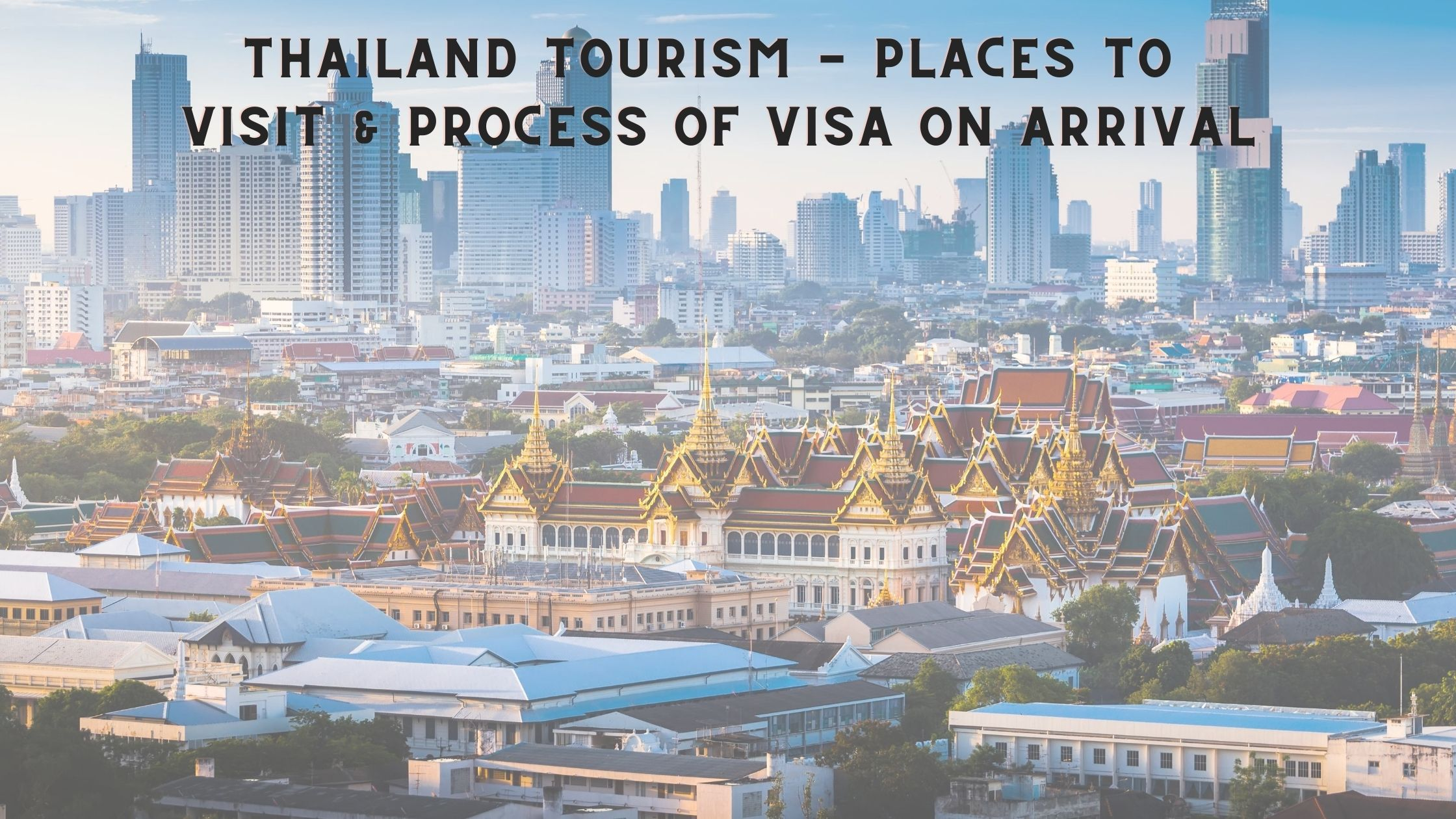 Thailand Tourism - Fly For Holidays