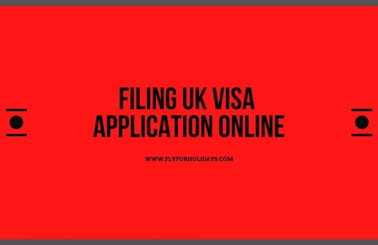 UK Visa Application Form PDF - Fly For Holidays