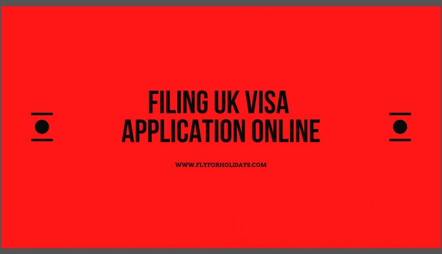 UK Visa Application Form PDF - Fly For Holidays
